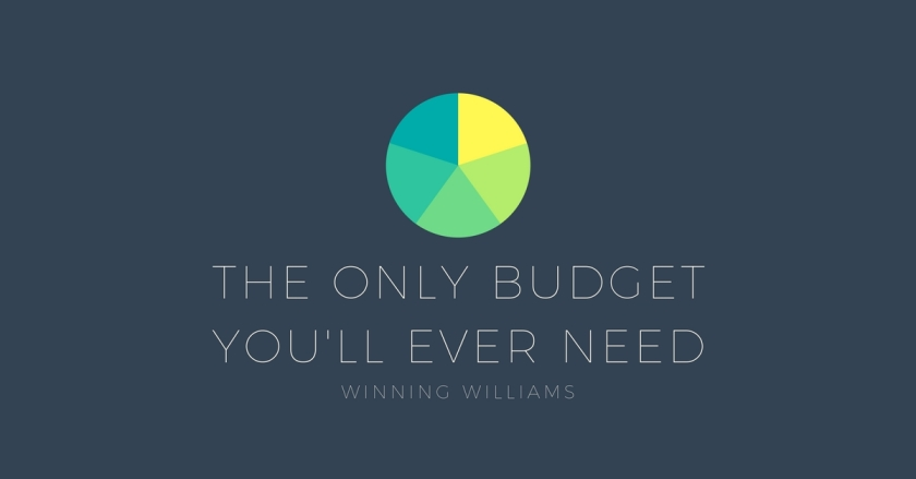 the only budget you'll ever need